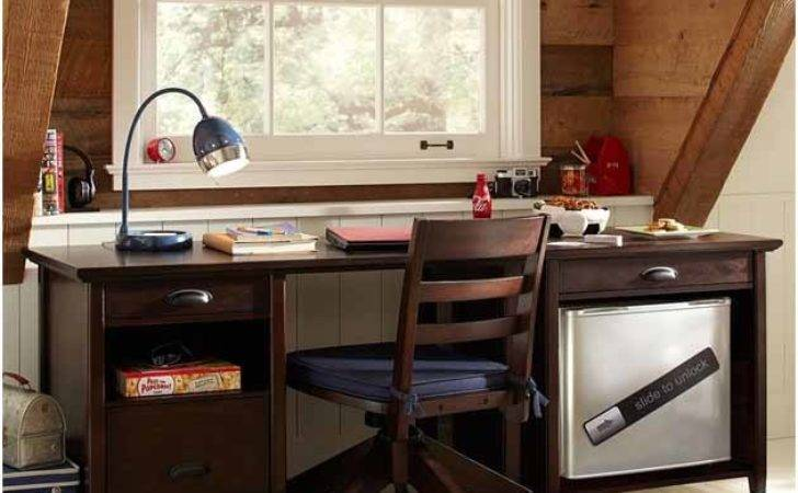 Stylish Study Tables Blend Bedroom Interiors