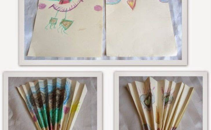 Summer Activities Kids Diy Paper Fan Momscribe