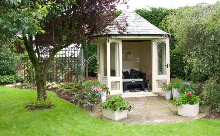 Summer House Small Garden