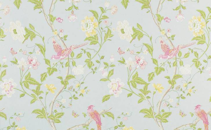 Summer Palace Duck Egg Floral Laura Ashley