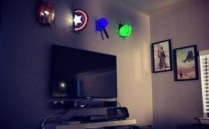 Super Hero Room Awesome Perfect Night Light