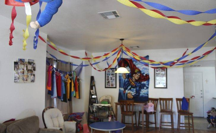 Superhero Party Decorations Only Little Once