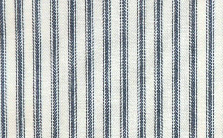 Sutton Fabric Navy Clarke Ticking