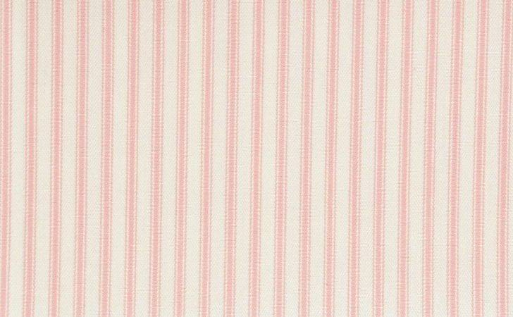 Sutton Fabric Pink Clarke Ticking