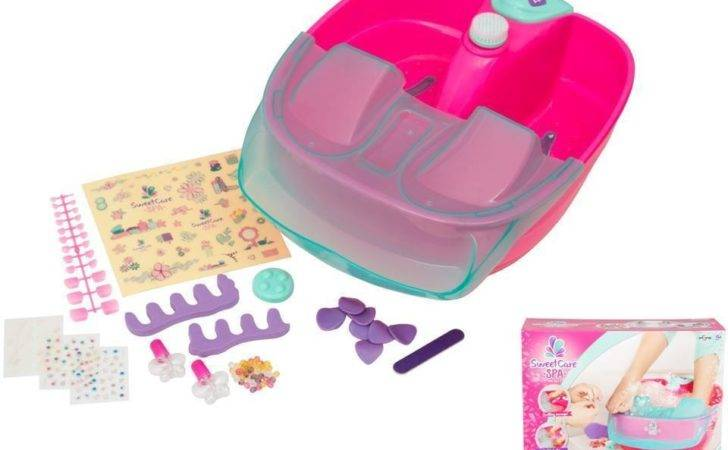 Sweet Care Foot Spa Bath Girls Accessories Relax Nail