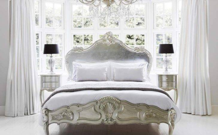 Sylvia Serenity Silver French Bed Luxury