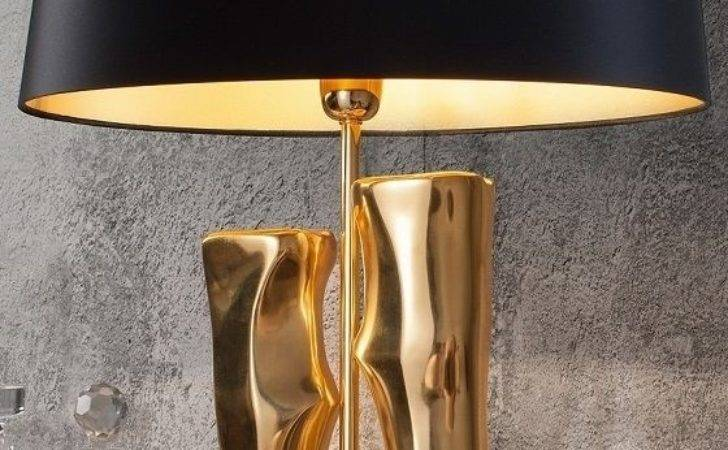 Table Lamps Contemporary Living Room