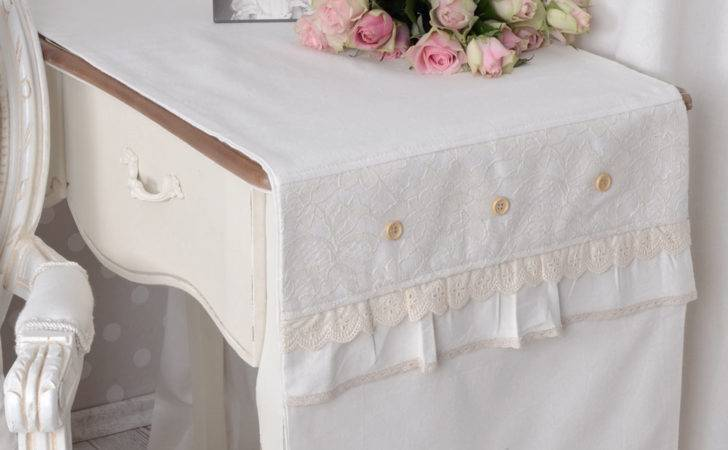 Tablecloth Country Style Table Runner White Vintage Ebay