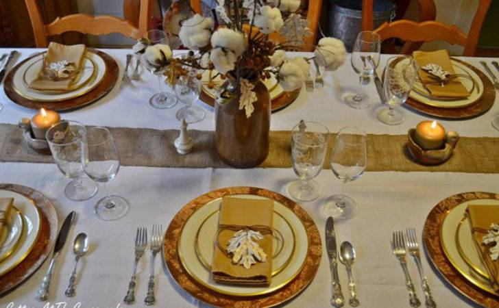 Tabletop Tuesday Fall Table Setting Ideas Week