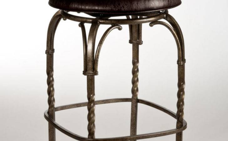 Tabouret Inch Vintage Gunmetal Counter Stool Set