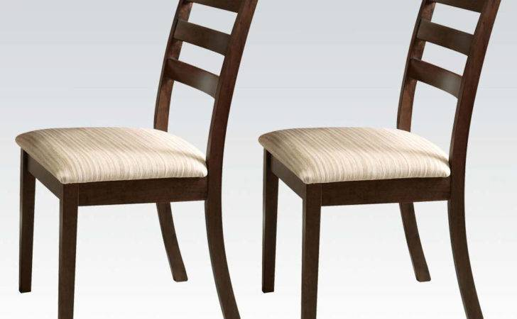Tacoma Casual Dining Side Chairs Walnut Piece