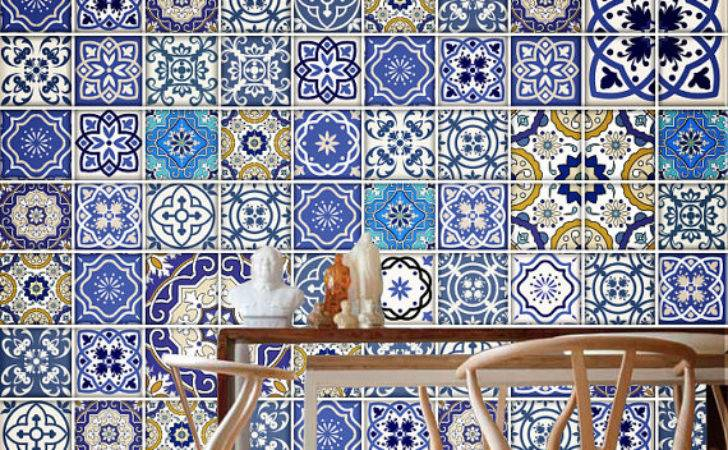 Talavera Traditional Tiles Tile Decal Kitchen