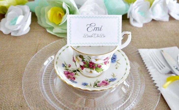 Tea Party Decorations Jumpstart Your Planning