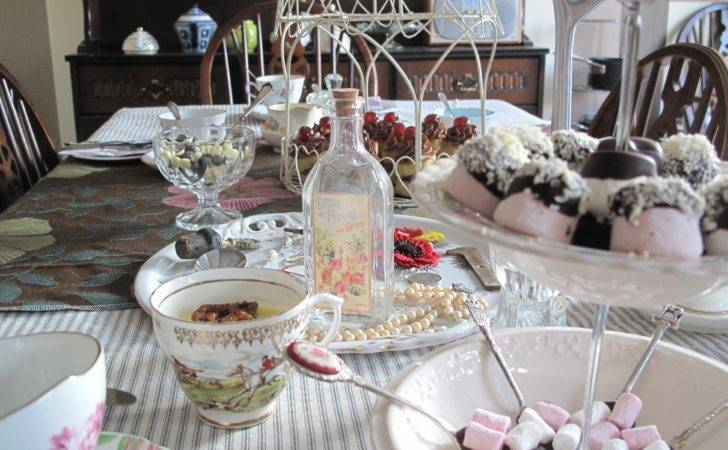 Tea Party Table Setting Ideas Indelink