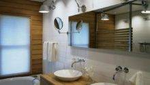 Teak Sink Contemporary Bathroom Toronto Interior
