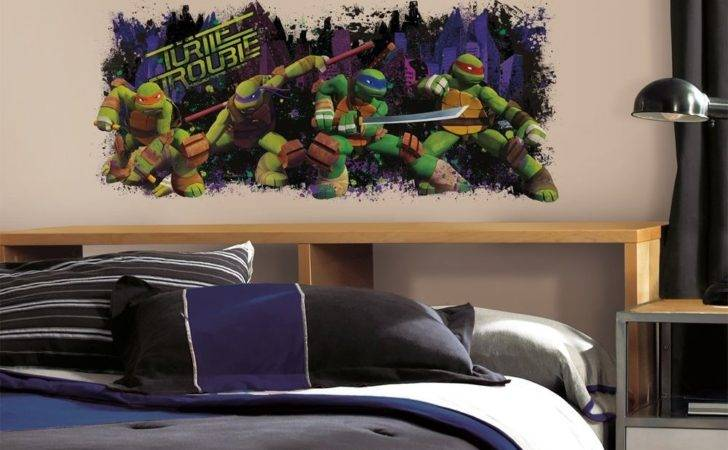 Teenage Mutant Ninja Turtles Trouble Mural Wall Decals