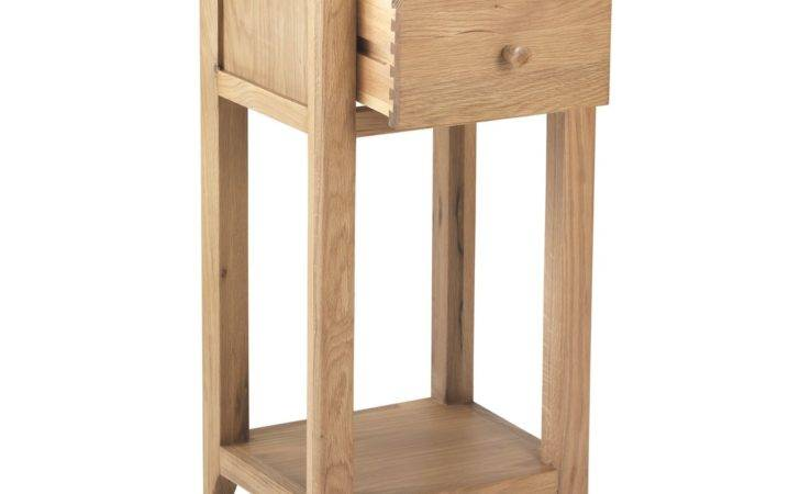 Telford Solid Oak Furniture Small Hall Table