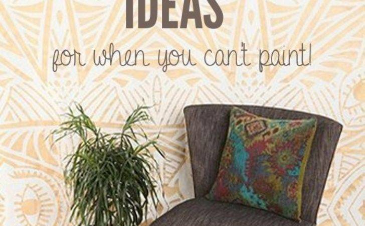 Temporary Wall Coverings Great Ideas Can