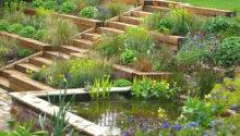 Terraced Garden Radlett Julian Tatlock Design