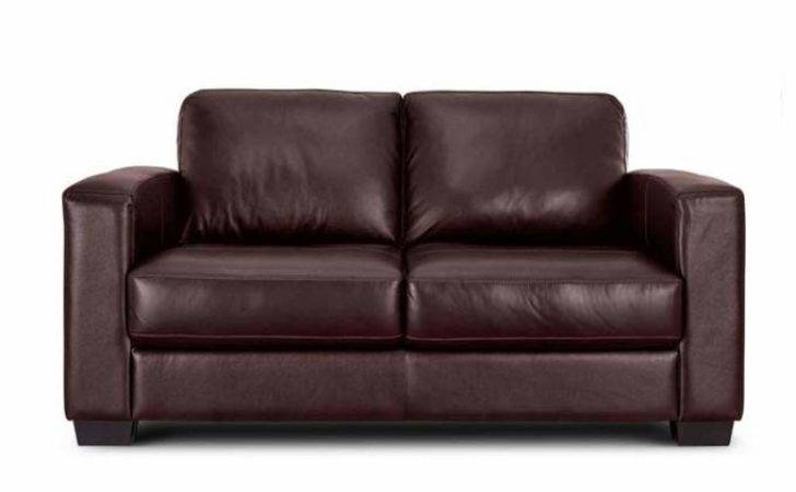 Tesco Brown Leather Sofa Bed Refil