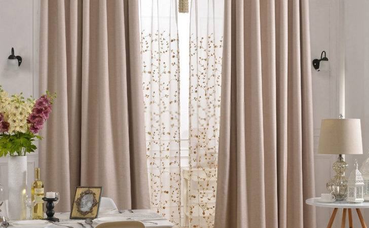 Thermal Blackout Curtains Eco Friendly Soundproof