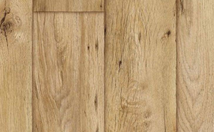 Thick Vinyl Flooring Realistic Warm Wood Plank