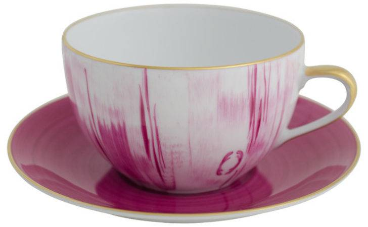 Thomas Large Breakfast Cup Saucer Cyclamen