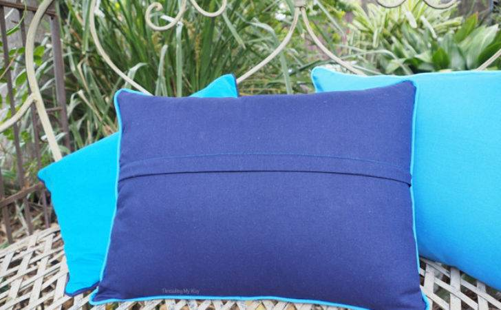 Threading Way Piped Cushion Covers Easier Than Think