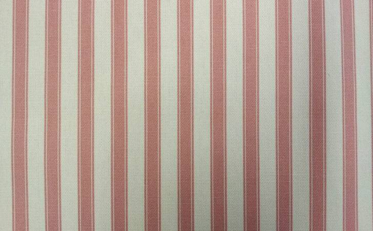 Ticking Stripe Cotton Pink Designer Curtain Upholstery