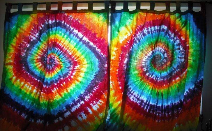 Tie Dye Custom Curtains Abby