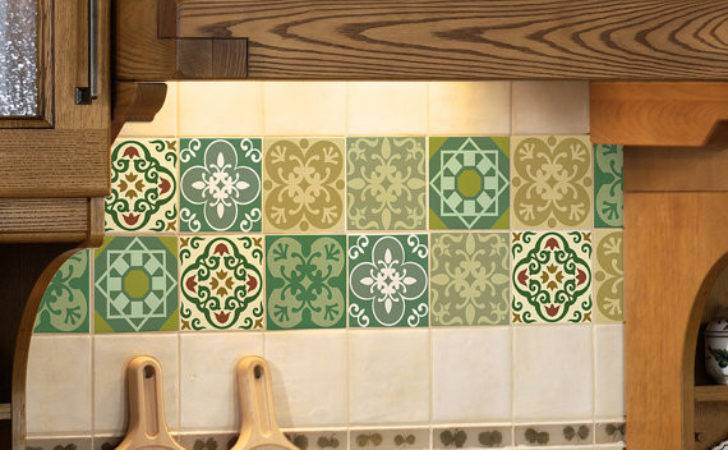 Tile Decals Set Stickers Kitchen Tiles