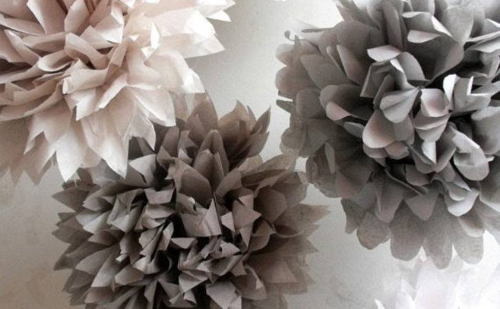 Tissue Paper Wedding Decorations Pompoms Pom