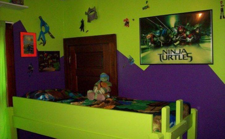 Tmnt Bedroom Decoration Ideas