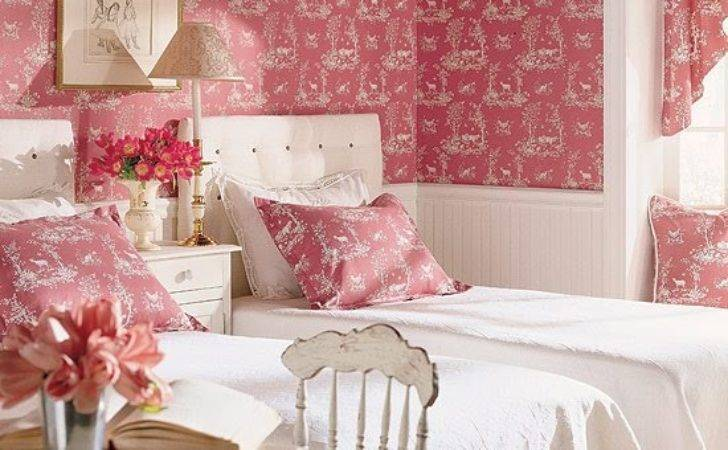Toile Girls Room Design Dazzle