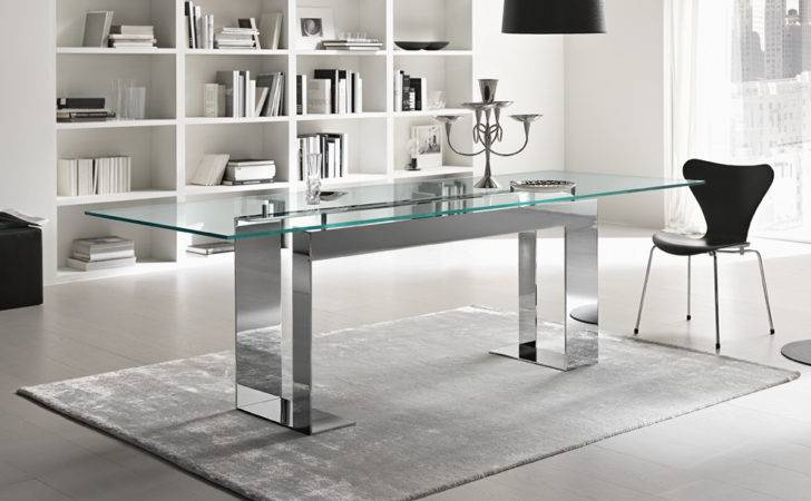 Tonelli Miles Glass Dining Table Tables
