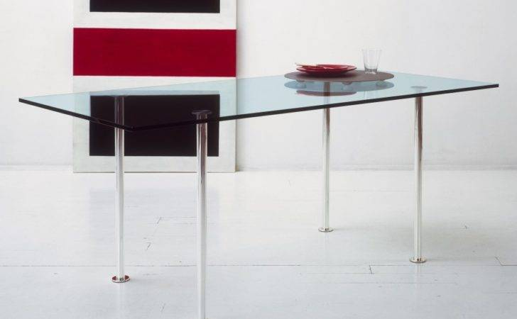 Tonelli Twiggy Glass Dining Table Modern Tables