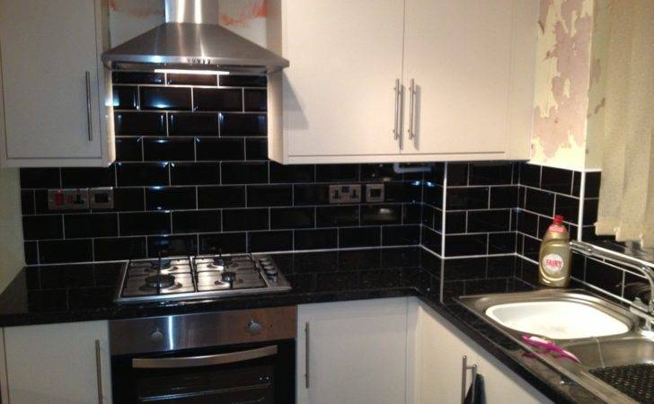 Top Black Kitchen Wall Tiles Your Home Developing