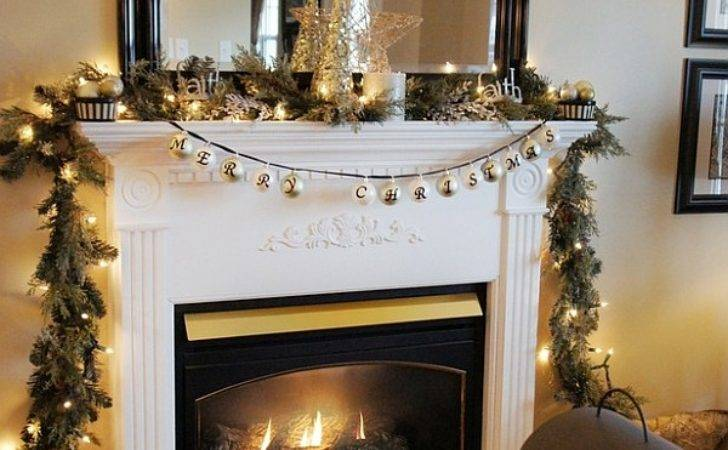 Top Christmas Mantelpiece Decorations Ideas