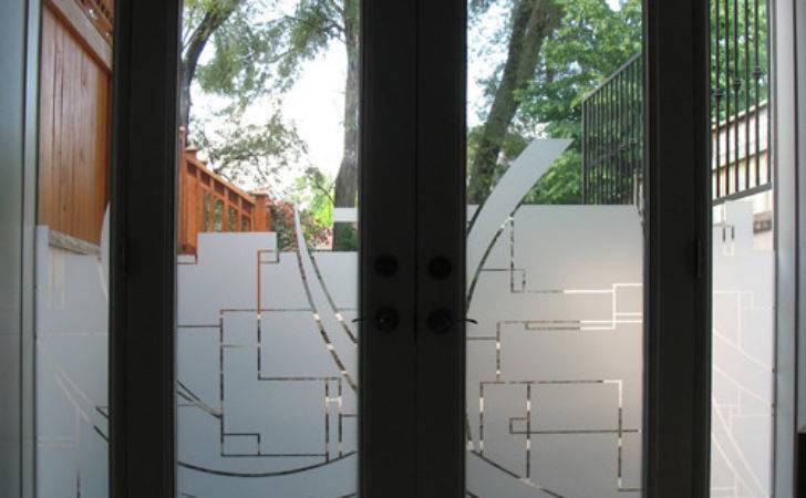 Toronto Residential Window Graphic Look Etched