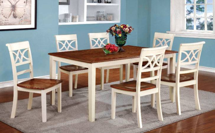 Torrington Country Style Vintage White Cherry Dining
