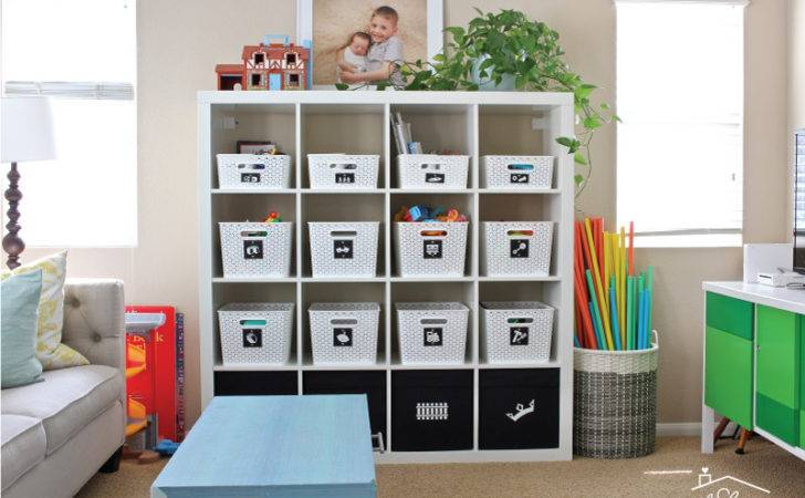 Toy Storage Solutions Playroom Homes Have Made