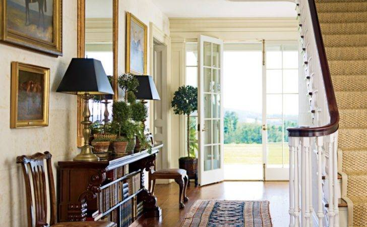 Traditional Entrance Hall Schafer Architect