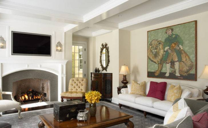 Traditional Living Room Beautiful Homes Design