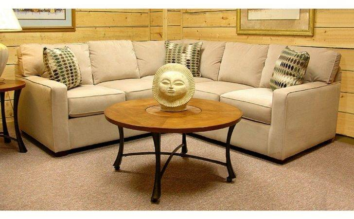 Traditional Living Room Decoration Brown Shaped