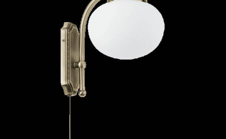 Traditional Pull Switched Bronze Wall Light Great