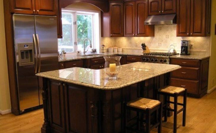 Traditional Shaped Island Kitchen Design Ideas Remodels