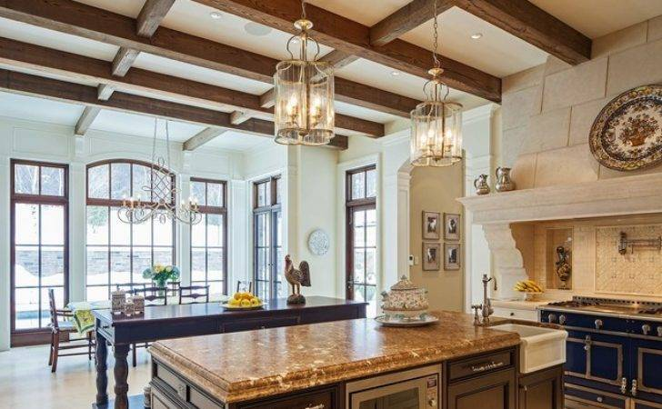 Traditional Tudor Style Home French Interiors