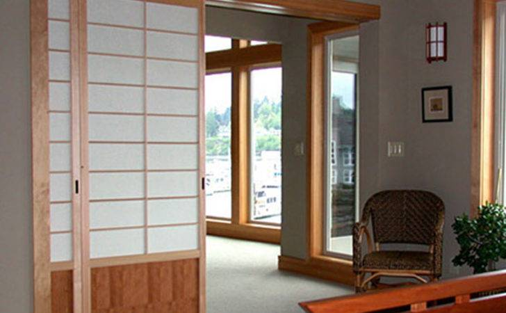 Traditional Yet Pretty Japanese Sliding Doors