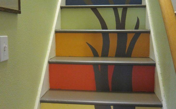 Transform Your Stairs Paint Art