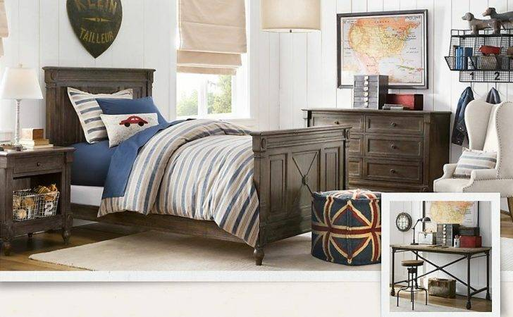 Treasure Trove Traditional Boys Room Decor